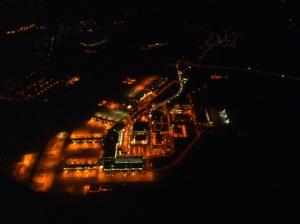 Letiště Ruzyně z FL60