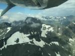 Vrcholky v horském sedle 8500 stop