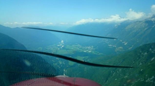 Bovec - letiště